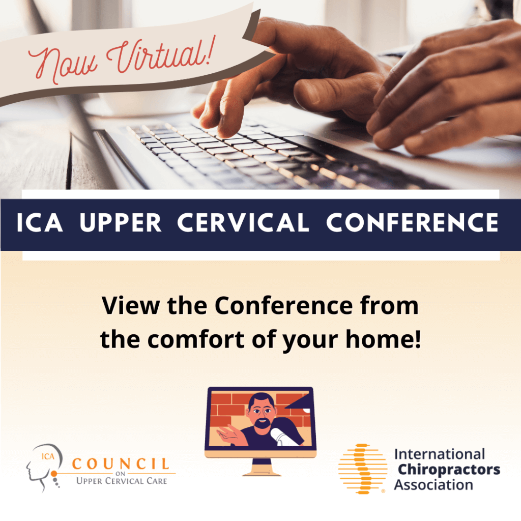 ICA Upper Cervical Conference – Virtual Distance Learning Course